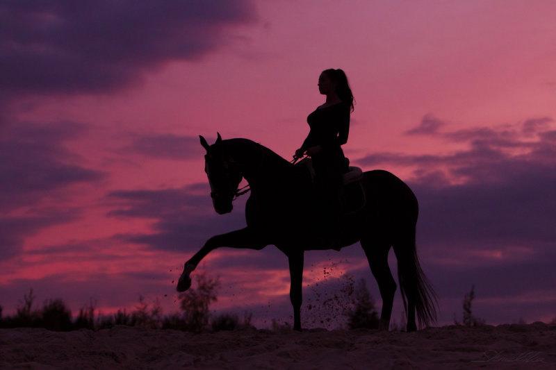 Sunset with Garadogan
