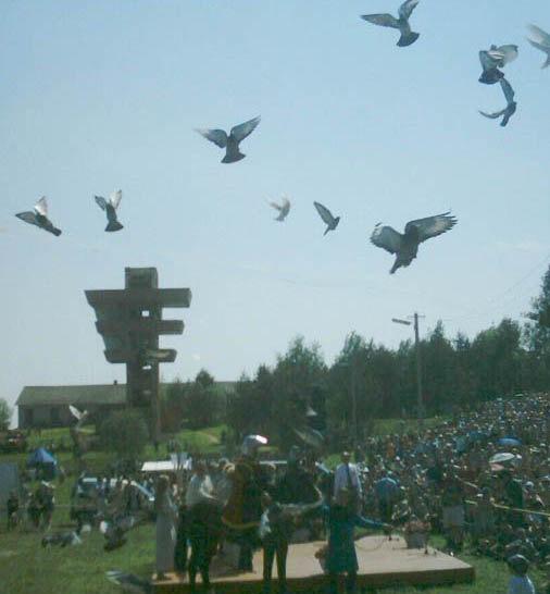 Летите, голуби, летите!