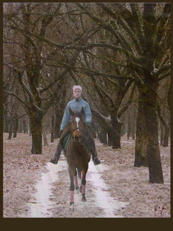 Я+Ворсинка(моя лошадь)+Photoshop(совсем чуть-чуть