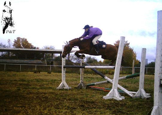 Красивый прыжок ...