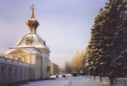Петродворец, минус 25.