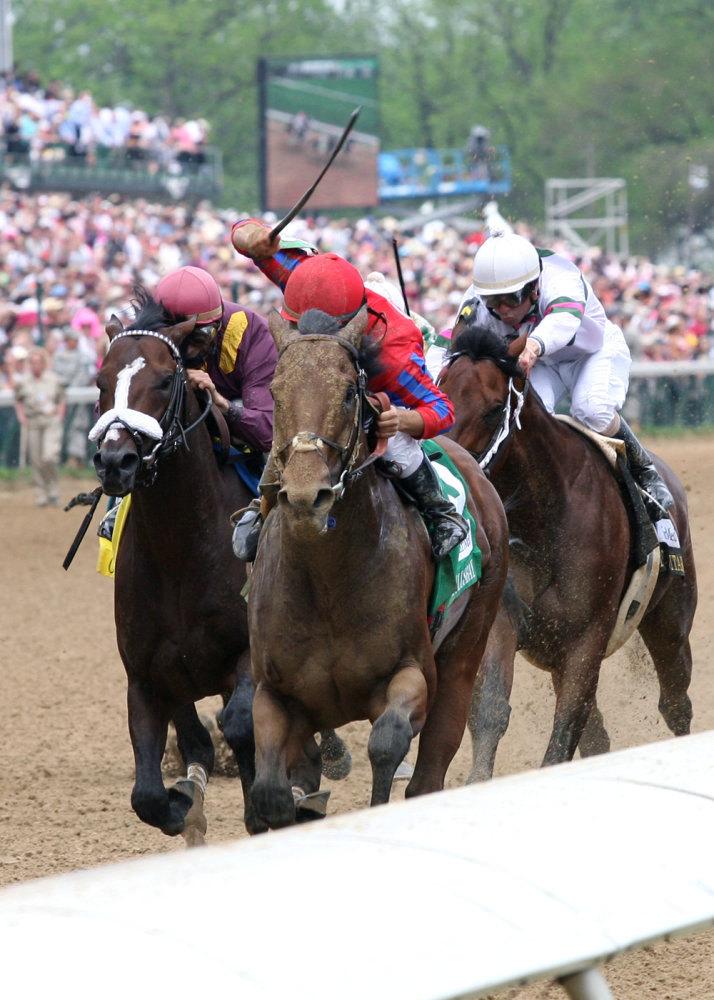 Ипподром Churchill Downs 2009 год, скачка Alysheba Stakes - Gr. 3