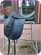 Седло выездковое Anky