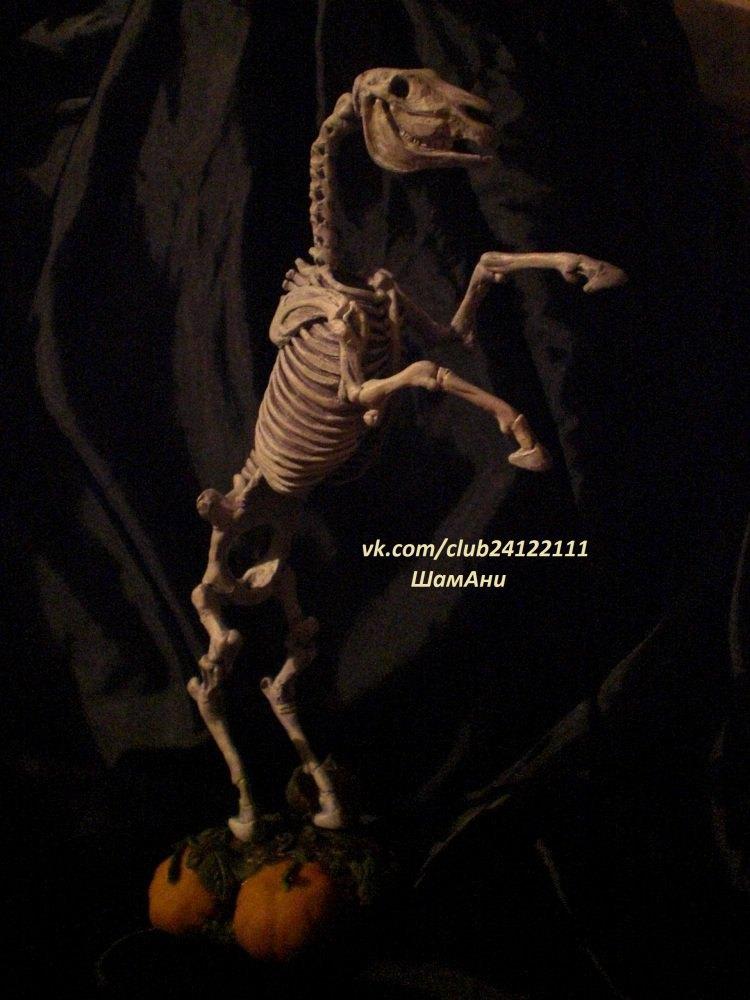 скульптура из полимерной глины кобыла Люся. 30см с подставкой,масштаб 1:9