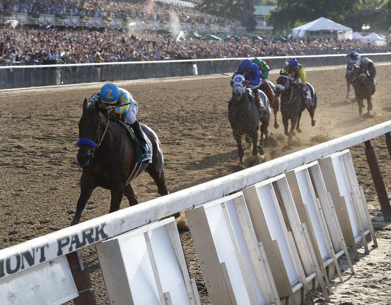 Ипподром Belmont Park, скачка Belmont Stakes (последний этап Тройной Короны) 2015 год.
