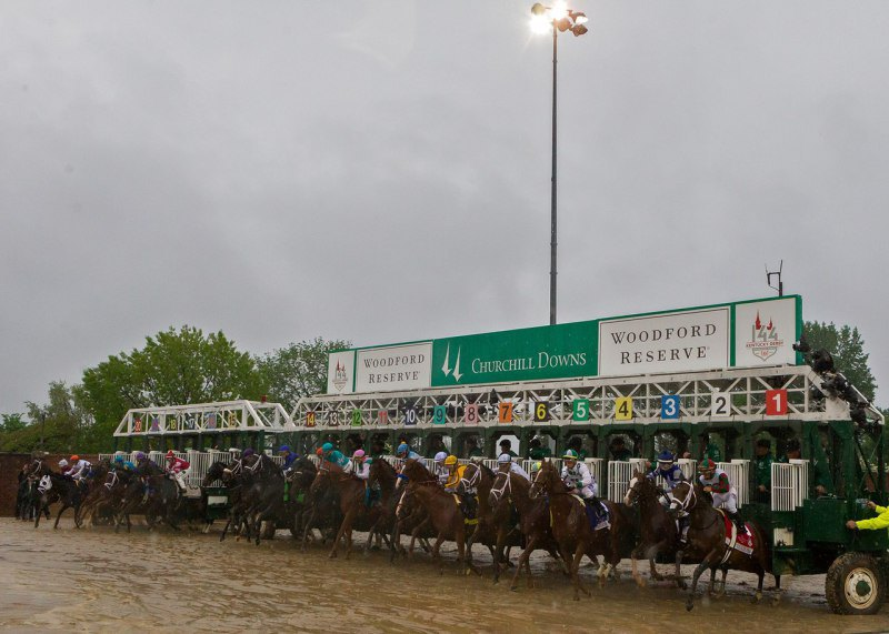Ипподром Churchill Downs, первый этап ТК - Kentucky Derby