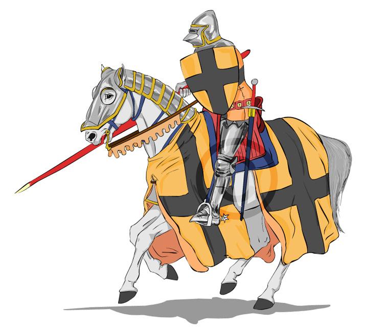 просеянную муку рыцарь рисунок цветной дворец реальный