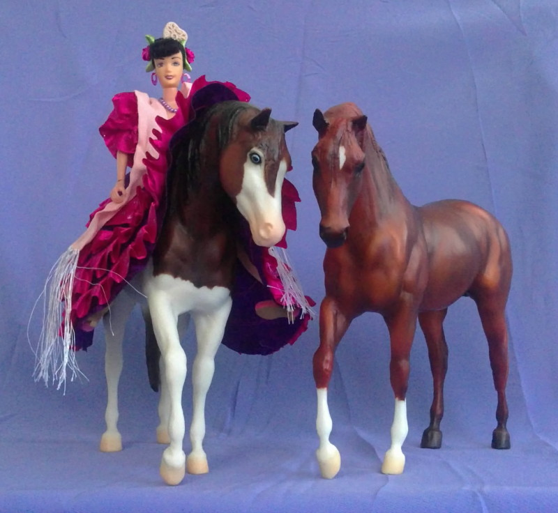 Toreo and Capella Foundation Stallion Breyer