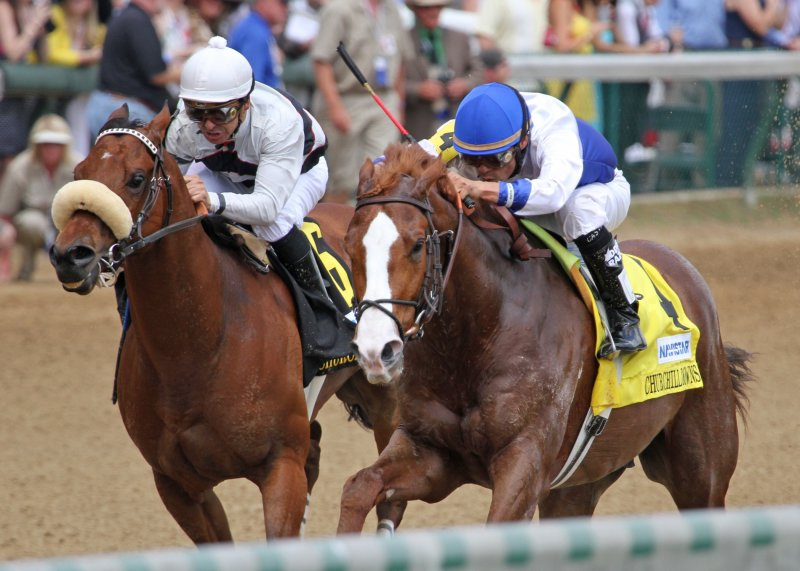 Ипподром Churchill Downs 2012 год, скачка Churchill Downs Stakes.