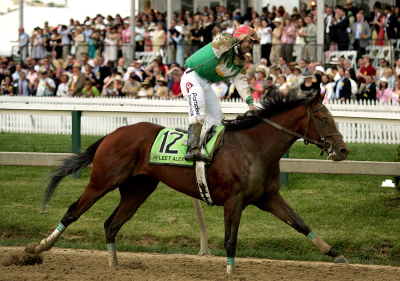 �������� Pimlico 2005 ���. ������ ���� ������� ������ - Preakness Stakes.