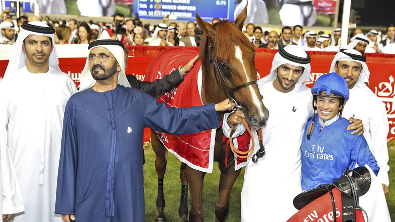 �������� Meydan, ��� 2014 ���. ������ Dubai World Cup.