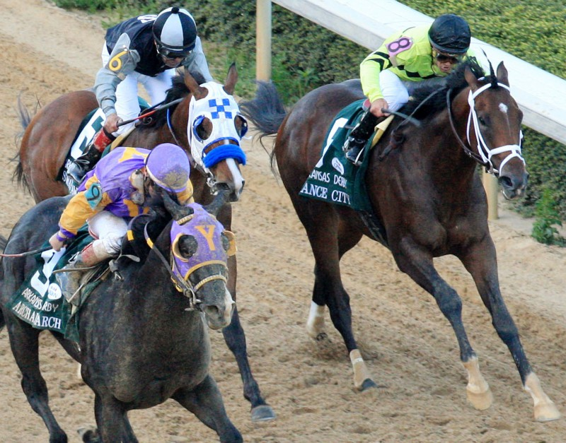 Ипподром Oaklawn Park 2011 год, скачка Arkansas Derby.