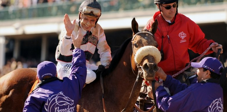 Ипподром Churchill Downs 2011 год, скачка Breeders' Cup Sprint