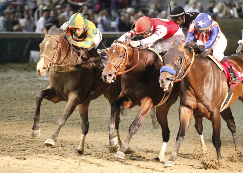 Ипподром Churchill Downs 2014 год, скачка Derby Trial Stakes